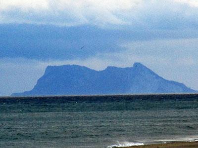 The Rock, Gibilterra (o Gebel El Tarik, la montagna di Tarik, dal 711)
