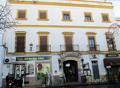 "L'albergo ""La Fonda"" ad Arcos de la Frontera"