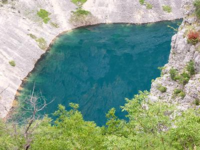 Un lago di Imerski