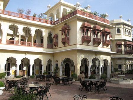 Jaipur, hotel Alsisar Haveli