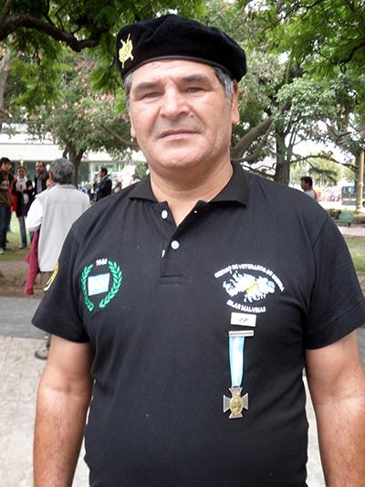 Oscar Polrtonieri, Eroe de las Malvinas