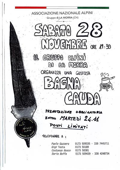 BAGNA CAUDA 2015