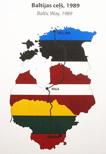 Baltico, catena umana tra le 3 capitali