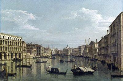 Bellotto, Canal Grande
