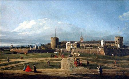 Bellotto, Milano, Castello Sforzesco