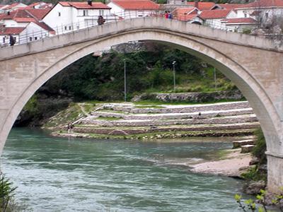 ILo storico ponte di Mostar