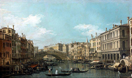 Canaletto, Canal Grande