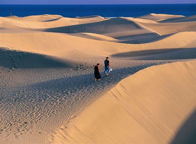 Gran Canaria, deserto