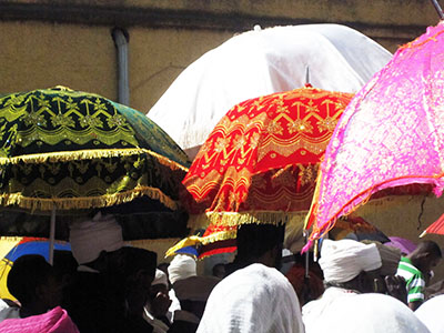 Gondar festa dell'Epifania