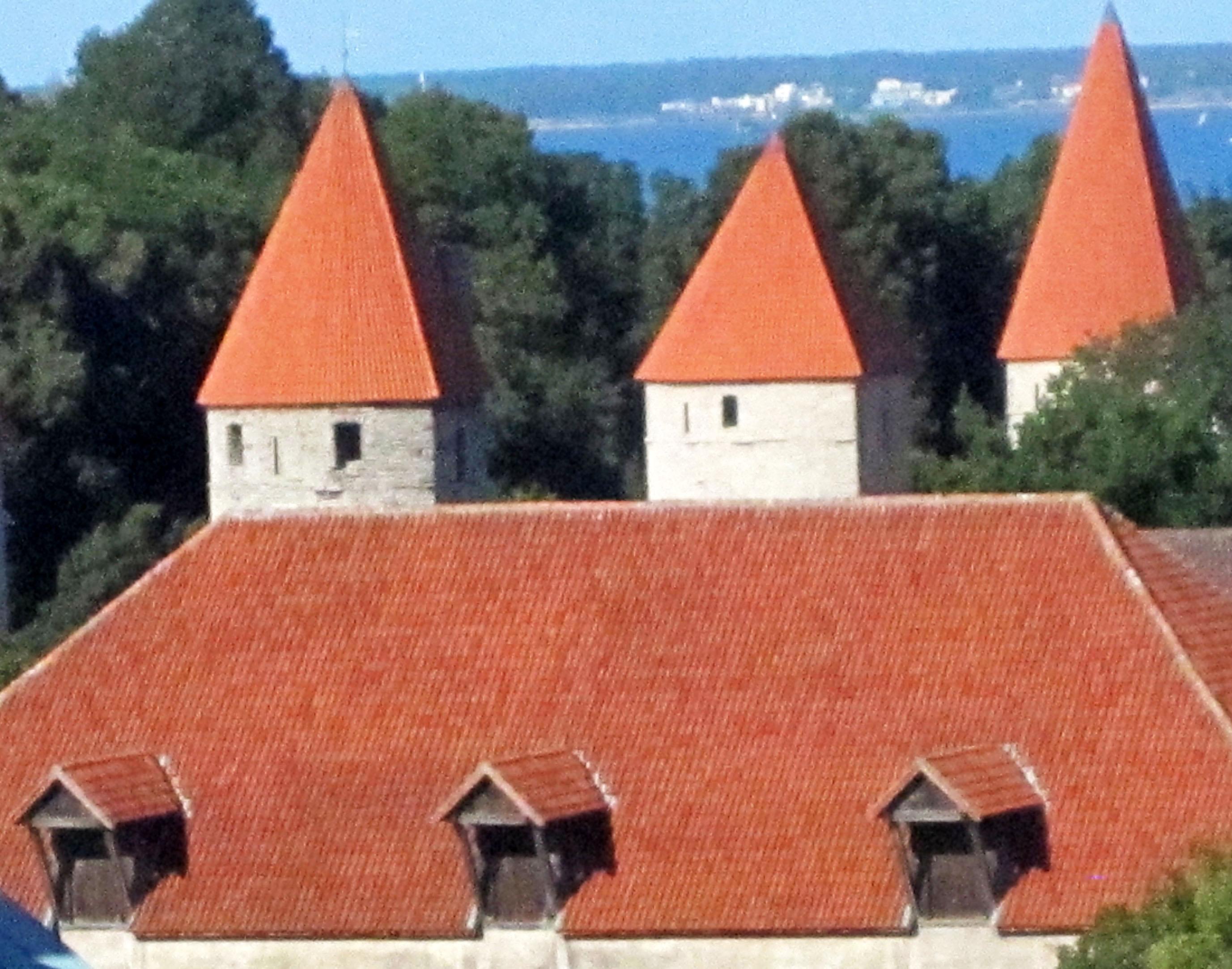 Estonia, Tallinn, le mura
