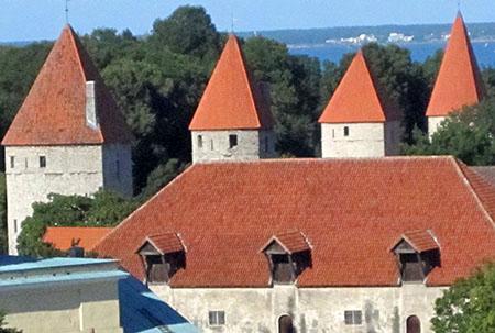 Estonia, Tallinn, torri mura