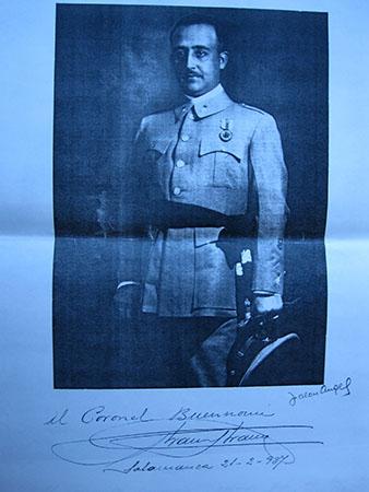 il colonnello Ruggero Bonomi alias coronèl Federici