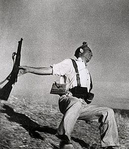 La famosa foto di Bob Capa, Muerte de un Miliciano