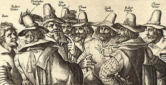 I congiurati del Gunpowder Plot (sembra che stiano facendo un nuovo governo...)