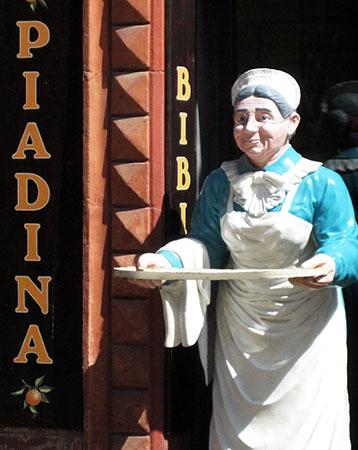 Piè detta anche Piadina a Ravenna