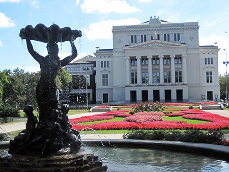 Riga, teatro dell'Opera