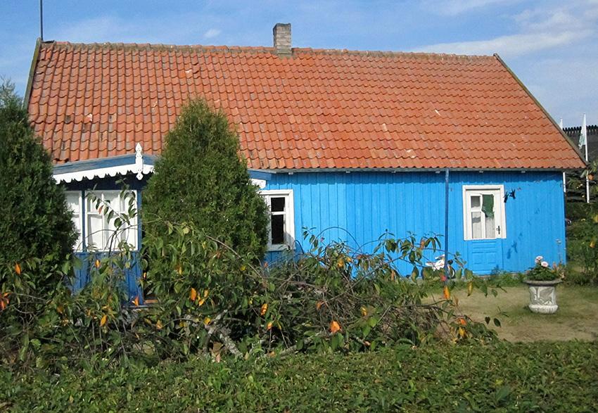 Nida, casa di pescatori