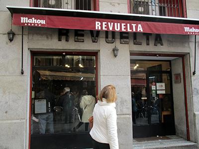 Madrid... Revuelta calle Latonero Puerta Cerrada grandi tajadas de bacalao! 2 euro 80