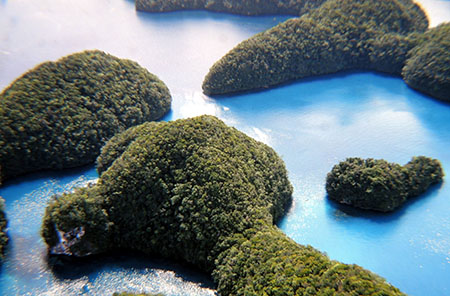 Che belle le Rock Islands in Micronesia....