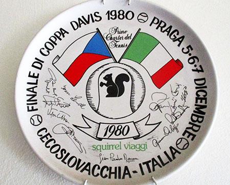 A Praga, Finale di Coppa Davis, 1980
