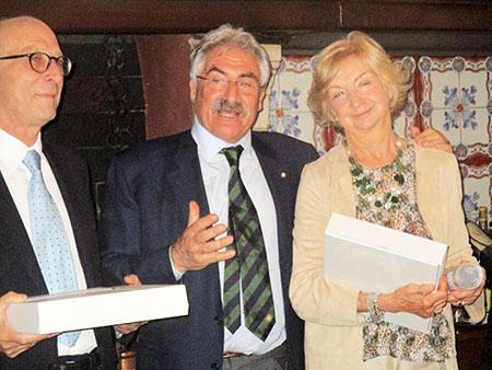 """Premi, durante la serata... (in copertina """"Lasagnette alle Ortiche""""...)"""