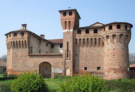 Briona località Proh, castello Sforza