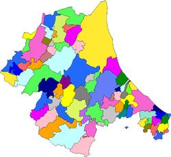 Il continente romagnolo