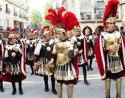 Processione della Semana Santa, i Romani