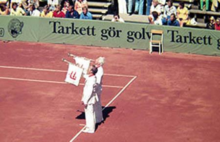 A Baastad, Svezia, Grande Tennis