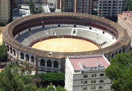Malaga, plaza de toros....