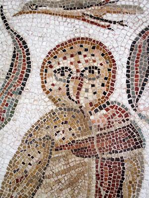Tunisia El Djem museo mosaico romano rid 400