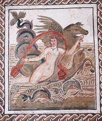 Tunisia El Djem museo mosaico romano rid u