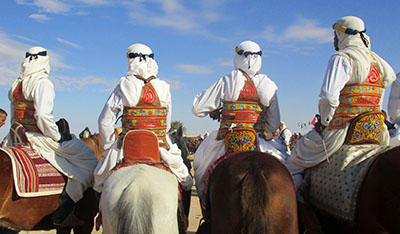 Tunisia festival sahara Douz y rid