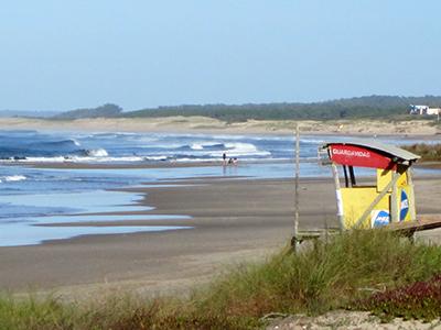 La Paloma, spiaggia