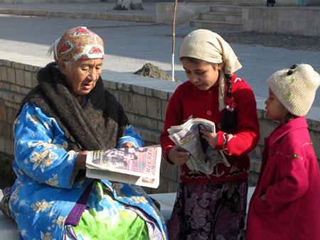 Bukhara, lettura