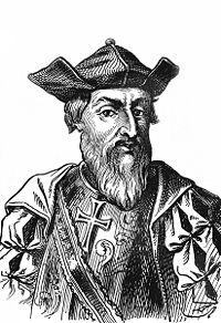 Vasco da Gama, ma Pigafetta (di cui non esistono immagini) vuoi mettere???