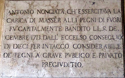 Altro ladro cuccato dalla Serenissima ...