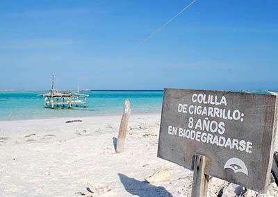 Colilla/mozzicone ... isola ecologica...