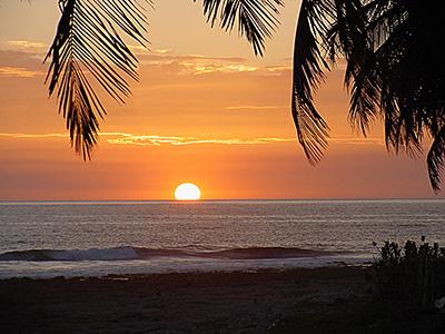 alba tramonto nicaragua - chinandega - punta aposentillo rid