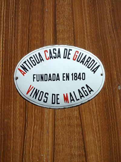 andalucia - malaga - casa guardia