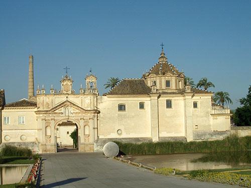 """Siviglia, la Cartuja (vi visse Fray Gorricio de Novara, amico e """"tesoriere"""" di Colombo)"""