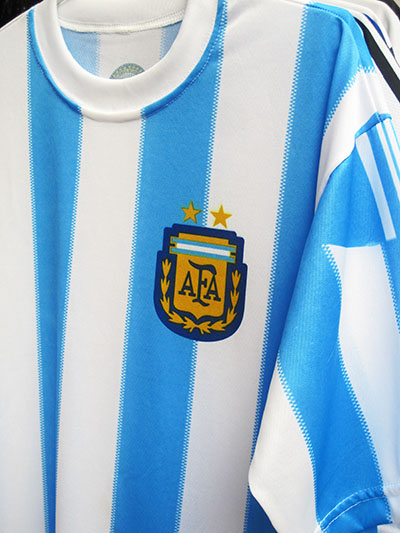 In cosa credono gli argentini ... la Albiceleste...