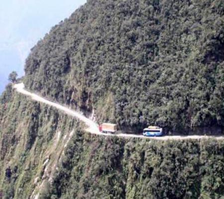 bolivia carretera de la muerte