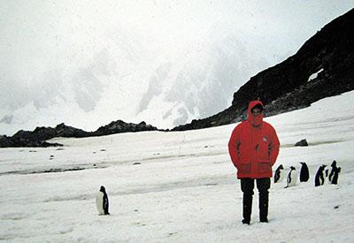 Con amici in Antartide....