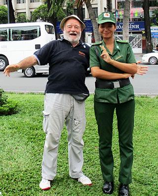 Cordialità con forze dell'ordine