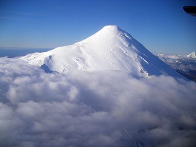 Vulcano Osorno, regione dei Laghi