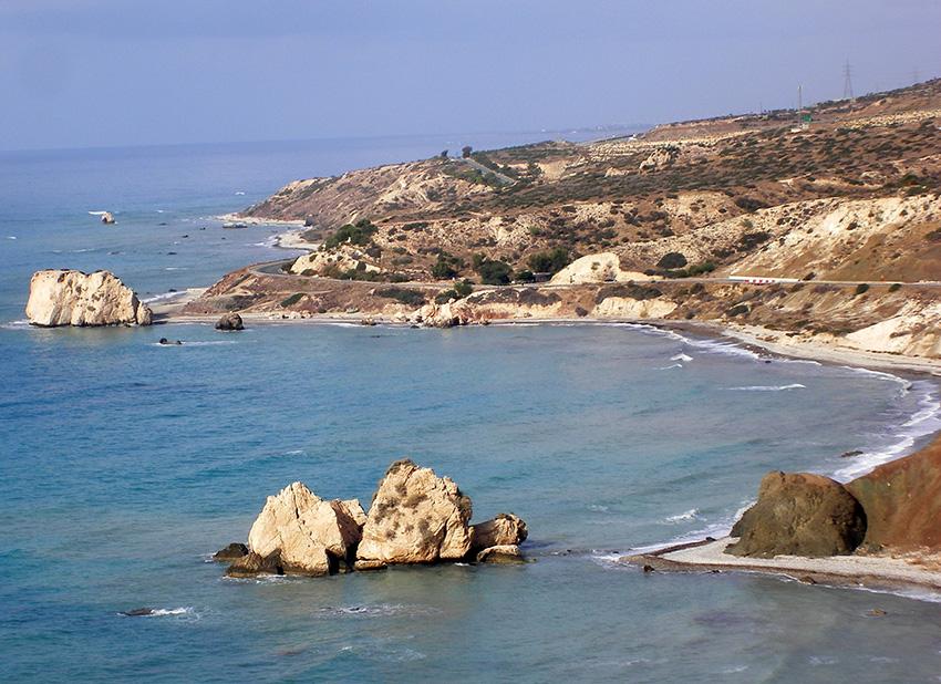 Cipro, spiaggia natale di Venere