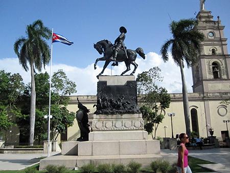 Plaza 'mayor' a Camaguey