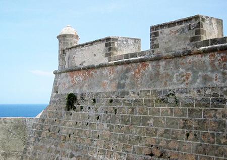 La fortezza di Santiago de Cuba