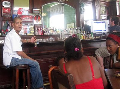 Bar a Cuba (si sta bene....)....